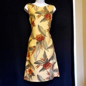 Tommy Bahama Jojoba Tropical Sheath Dress Sz 8
